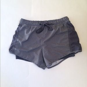 Tangerine Woman's Active Two-Fer Running Shorts